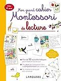 Mon grand cahier Montessori de lecture