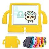 Funda protectora de espuma infantil,CLOUDSTOO protectora suave para Apple iPad 2/3/4,color amarillo