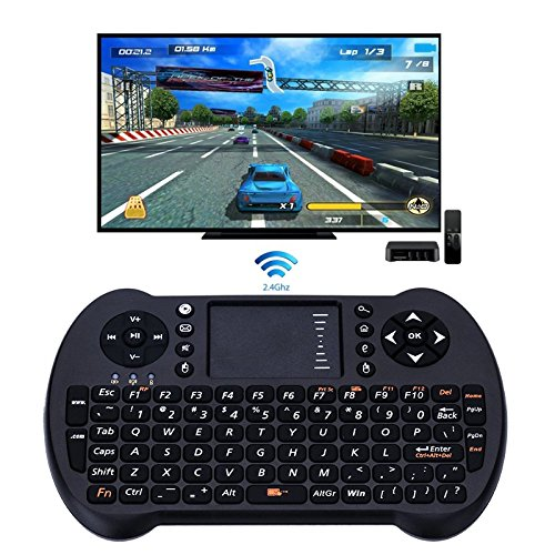 NeitKaarsh India S501 2.4G Wireless Keyboard with Touchpad Mouse Game Held for Android TV Box/Xbox 360/Windows PC Single Item.