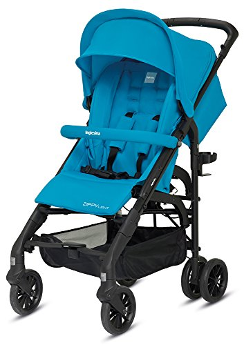 Inglesina Zippy Light Passeggino Reclinabile, Antigua Blue