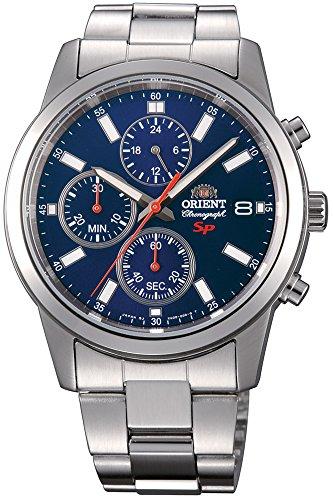 Orient Orologio Cronografo Quarzo Uomo con Cinturino in Acciaio Inox FKU00002D0