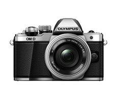 "Olympus E-M10 Mark-II - Cámara EVIL de 16.1 Mp (pantalla 3"", estabilizador óptico, vídeo Full HD, WiFi) - Kit cámara con objetivo 14-42mm EZ Zoom, plata"