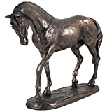 Cold Cast Bronze Horse Nobility by Harriet Glen
