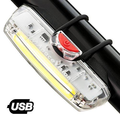 Apace Illuma ZT3000 Luce Anteriore USB Ricaricabile per Bicicletta - POTENTE Fanale Anteriore LED...