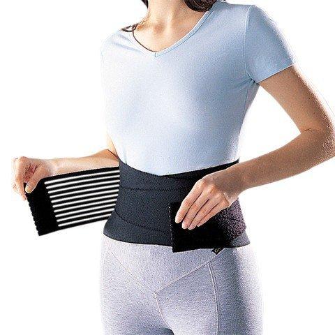 takestop Supporto Lombare con Stecche Fascia Elastica TUTORE Fitness con Chiusura in Velcro Neoprene...