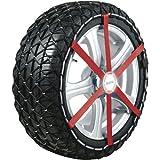 Michelin 92304 Catene da neve in tessuto Easy Grip L12, ABS e ESP compatibile, TÜV/GS e ÖNORM, 2 pezzi