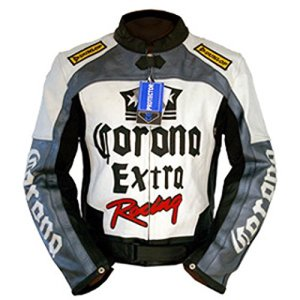 4LIMIT Sports Motorradjacke CORONA Leder schwarz weiss grau 3