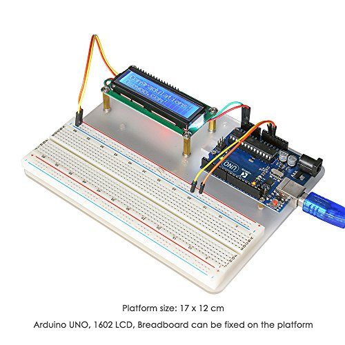 51NPcsG9BNL - Kit de aprendizaje para programar KOOKYE para Arduino, Raspberry Pi none UNO R3 Starter kit for Arduino