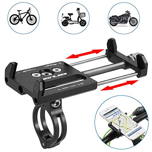 SunTop Porta Cellulare Bici Universale Ruotabile a 360°Porta Cellulare Bici Supporto Telefono...