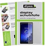 dipos I 2X Schutzfolie matt kompatibel mit Alcatel 3T 10 Zoll Folie Displayschutzfolie