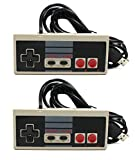 Link-e ® : Retro Gaming : lot de 2 manettes Nintendo NES à branchement USB pour PC