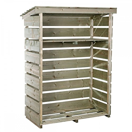 If you looking for a small log store that is manufactured to the highest standards, but still offers great value for money then this could be a good candidate.