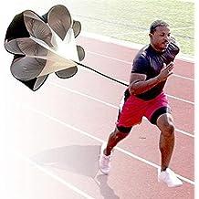 StillCool Correr la velocidad de entrenamiento, 56 pulgadas resistencia de entrenamiento de velocidad paracaídas carrera de velocidad Entrenamiento de velocidad de fútbol Chute