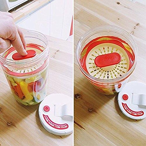 LOCK n LOCK Inteorak Clear Pickle Jar Ferment Storage Container