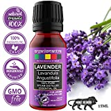 Organix Mantra Lavender Essential Oil Steam Distilled Natural, Pure And Organic (15Ml)