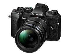 Olympus OM-D E-M5 Mark III CSC - Cámara de 20 MP (4K, estabilización de imagen en 5 ejes, AF por Detección de Fase) - pack con objetivo 12-40 mm EZ, color negro