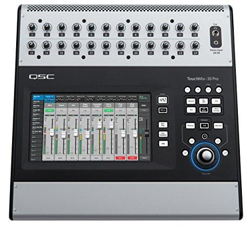 QSC TouchMix-30 Pro 32-Channel Professional Digital Mixer