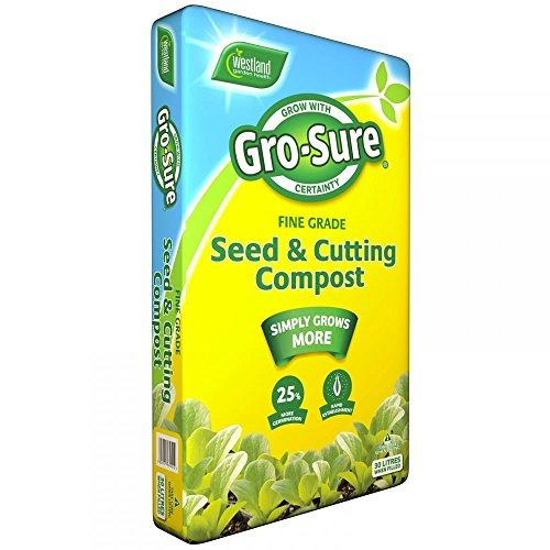 GRO Sure Seed and Cutting Compost 10L by Westland