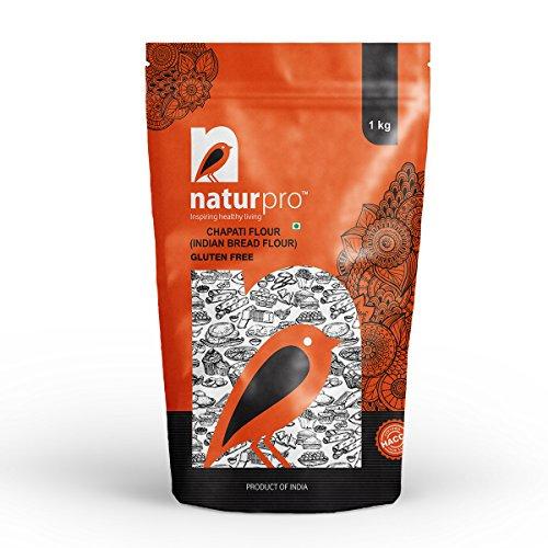 Naturpro Gluten Free Chapati Flour Pouch, 3 X 1 kg