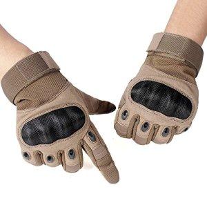 Unigear Motorrad Handschuhe Herren, mit schmalem Riegel, Leichte Sommerhandschuhe auch geeignet für Taktische Handschuhe, Skifahren, Militär, Airsoft Outdoor Handschuhe 2