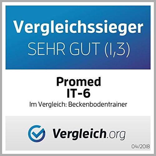 Promed IT 6, TENS Gerät mit Vaginalsonde, 4 Elektroden, Inkontinenzgerät, Beckenbodentrainer, Beckenbodentraining, Training der Vaginalmuskulatur & Beckenboden - 5