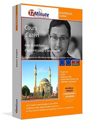 Cours d'azéri express. Logiciel pour Windows / Linux / Mac OS X. Apprenez le vocabulaire d'azéri pour vos vacances en Azerbaïdjan