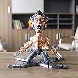 X-cddecd X-Men Wolverine Hero Series Statue Animée Personnage Modèle Décoration Statue