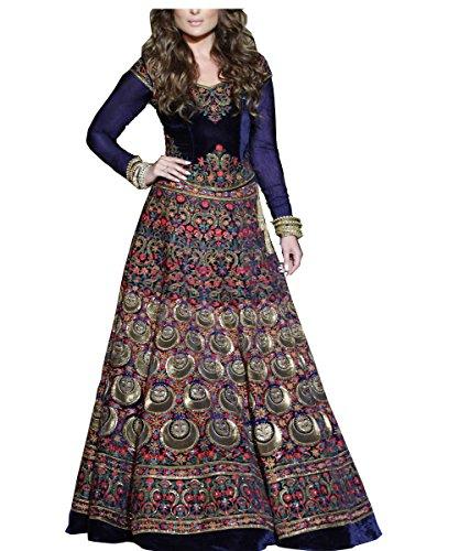 Royal Export women's Bangalori silk digital printed lehenga choli