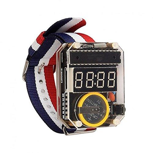 51OCXaVN8nL - Kit para hacer tu propio reloj de SainSmart