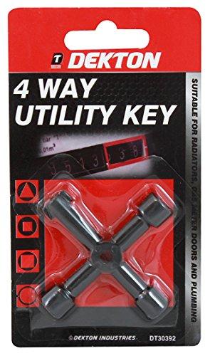 Dekton dt303924Wege Schlüssel 1schwarz