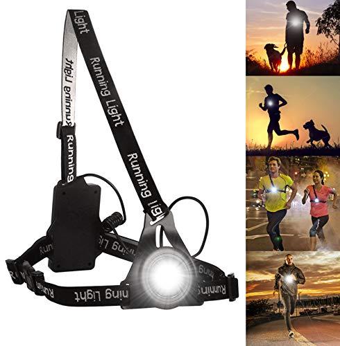 BraceTek Running Light Ricaricabile USB Impermeabile, Lampada per Il Running con 3 modalità, Molto...