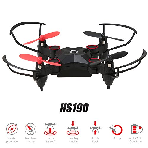 Holy Stone Mini Drone Pieghevole HS190 No Camera Nano RC Droni per Bambini Regalo Pocket Quadcopter...