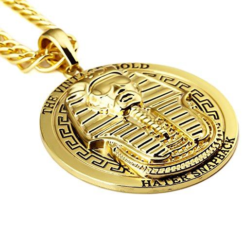 Colgante de Faraón bañado en oro