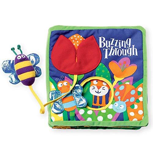 Manhattan Toy 202970 - Libro per Bebè Buzzing Through [Lingua Inglese]
