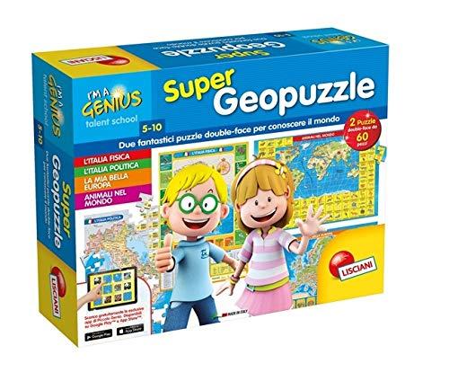 Lisciani Giochi 53742 - Piccolo Genio Supergeopuzzle
