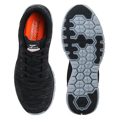 Red Tape Mens Black Running Shoes 11 Uk India 45 Eursc0381