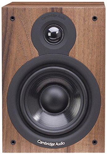 Cambridge Audio SX-50, Diffusori da scaffale per coppia (Noce)