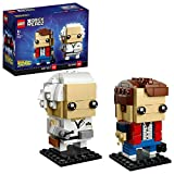 Lego Brickheadz- Marty McFly e Doc Brown Set Costruzioni, 41611