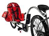 Weehoo Kids' IGO Venture Trailer Tagalong Bike, Red, 4-9 Years