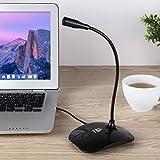 KLIM Talk - Microphone USB à Pied pour PC et Mac - Compatible avec Tout...