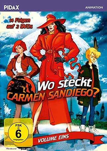 Wo steckt Carmen Sandiego?, Vol. 1 / Die ersten 14 Folgen der preisgekrönten Zeichentrickserie zum Mitraten (Pidax Animation) [2 DVDs]