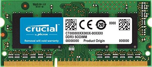 Crucial 4GB DDR3-1333 4GB DDR3 1333MHz memoria