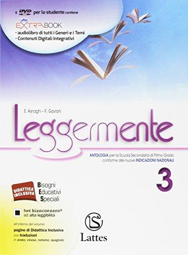 Leggermente delle competenze. Per la Scuola media. Con DVD-ROM. Con e-book. Con espansione online....