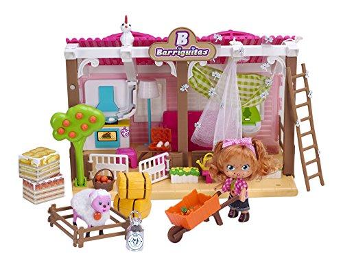 Barriguitas Casa rural, muñeca con casa y accesorios (Famosa 700013097)