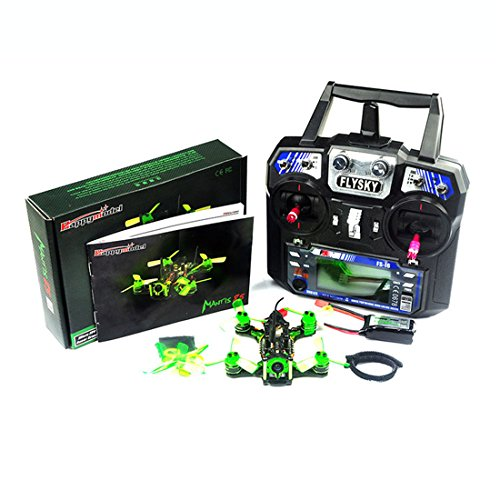 GEHOO GH Happymodel Mantis85 85mm FPV Racing Drone RTF con Supers_F4 6A BLHELI_S 48CH 600TVL FS-I6 (Remote Control Mode 2)