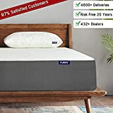 Furny Reversible Hybrid Mattress, Medium Firm & Soft in 1 Mattress, Moisture Wicking - Odor Reducing Breathable Fabric, CertiPURE - ISO Certified