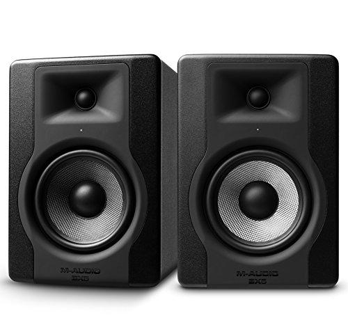 "M-Audio BX5 D3 Par - Monitor profesional de estudio bidireccional de 5"" para producción musical"