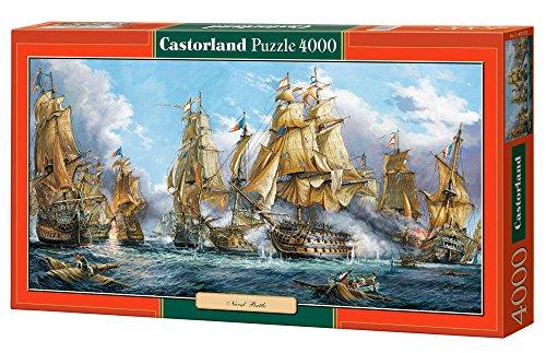 Castorland Jigsaw Puzzle - Naval Battle 4000 Pezzi
