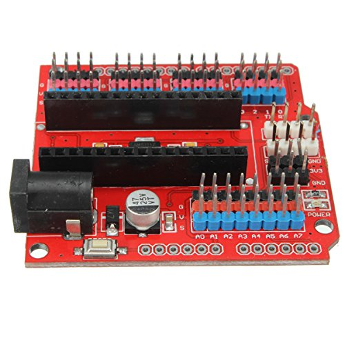 51PKETxLI0L - WINGONEER Expansion Prototype Shield Módulo de Placa de extensión de E/S para Arduino Nano V3.0