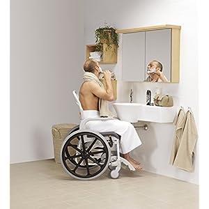 Silla de ruedas para ducha autopropulsada Etac Clean